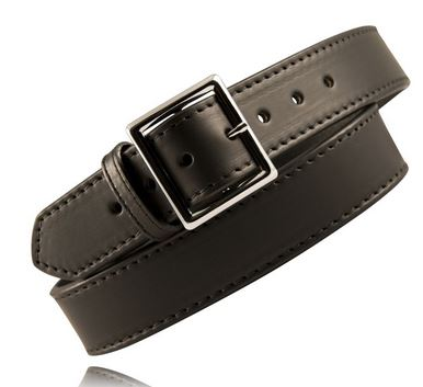 "Boston Leather 6505L 1.75"" Lined Garrison Belt[Clearance Size XS"