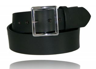 "Boston Leather 6505NL 1.75"" Garrison Belt No Lines [Clearance]"