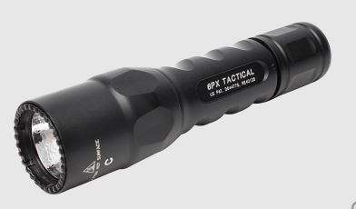 Surefire 6PX-C-BK Single Mode Flashlight - 600 Lumens