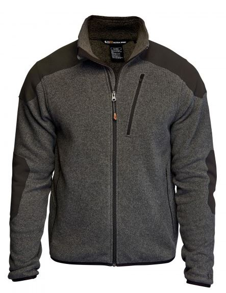 5.11 Tactical Full Zip Sweater - Gun Powder [Clearance S/2XL]