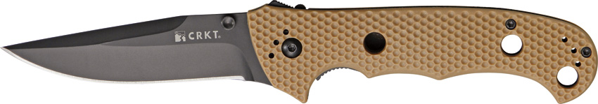 CRKT Hammond Cruiser Black - Brown Handle 7904DB (Online Only)