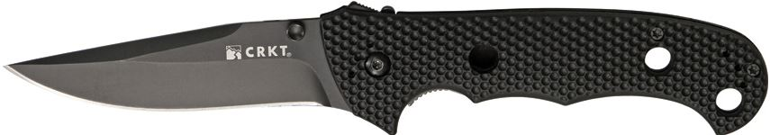 CRKT Hammond Cruiser Black Plain Edge 7904KN (Online Only)