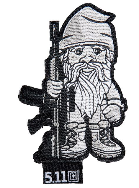 5.11 Tactical Patch Tactical Gnome - Black