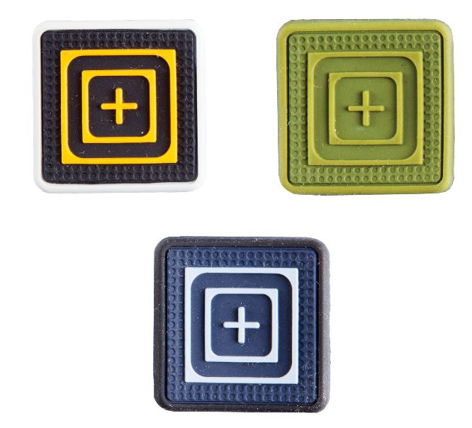 5.11 Silicone Tactical Patch One X One Scope TPR