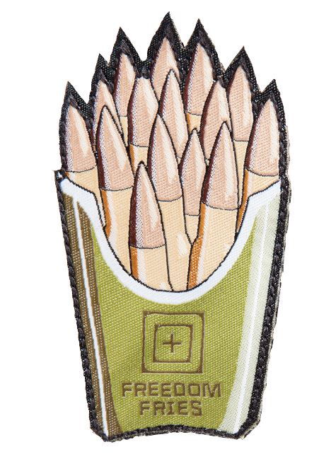 5.11 Tactical Patch Freedom Fries - OD Green