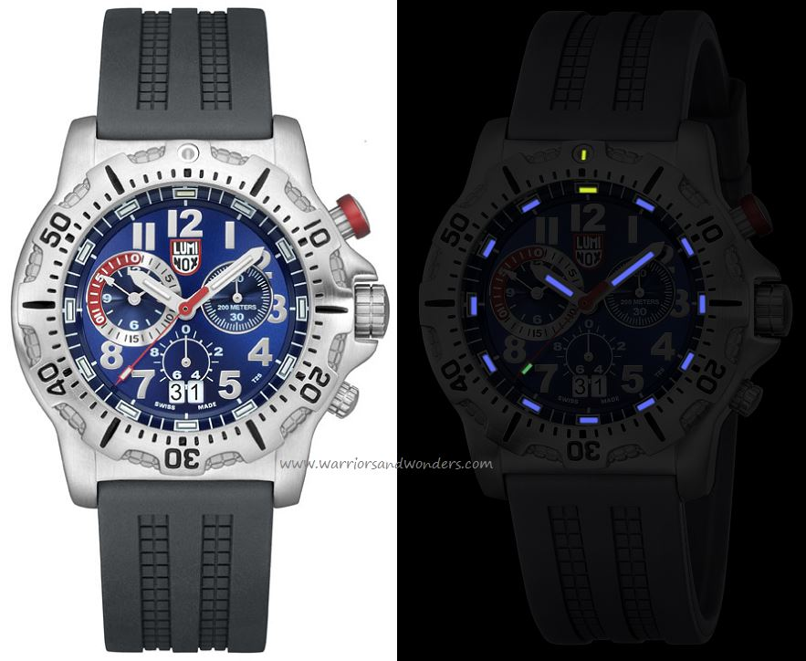 Luminox Sea A.8153.RP Dive Chronograph Series