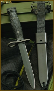 OKC 494 M7 Bayonet and Scabbard 8185