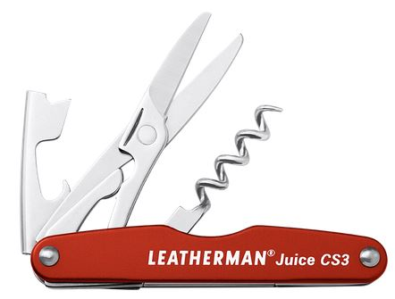 Leatherman Juice CS3 Multitool - Cinnabar
