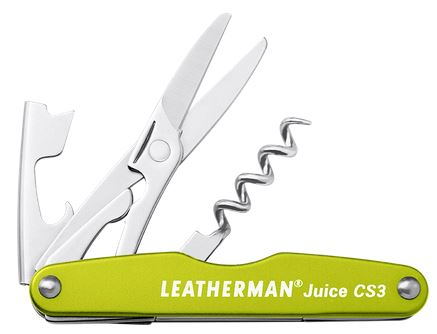 Leatherman Juice CS3 Multitool - Moss Green