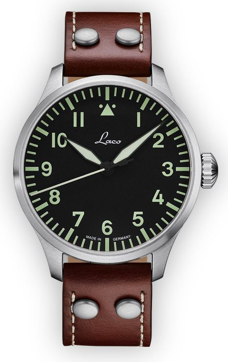 Laco Basic Pilot Watch 42mm Automatic Augsburg 861688.2
