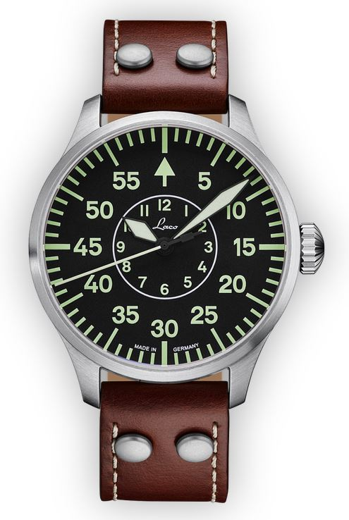Laco Basic Pilot Watch 42mm Automatic Aachen 861690.2
