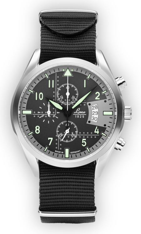Laco Chronograph Detroit 42mm 861917