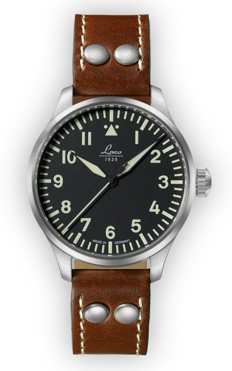 Laco Basic Pilot Watch 39mm Automatic Augsburg 861988