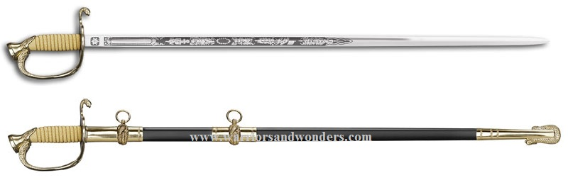Cold Steel 88MNA U.S. Naval Officer's Sword (Online Only)