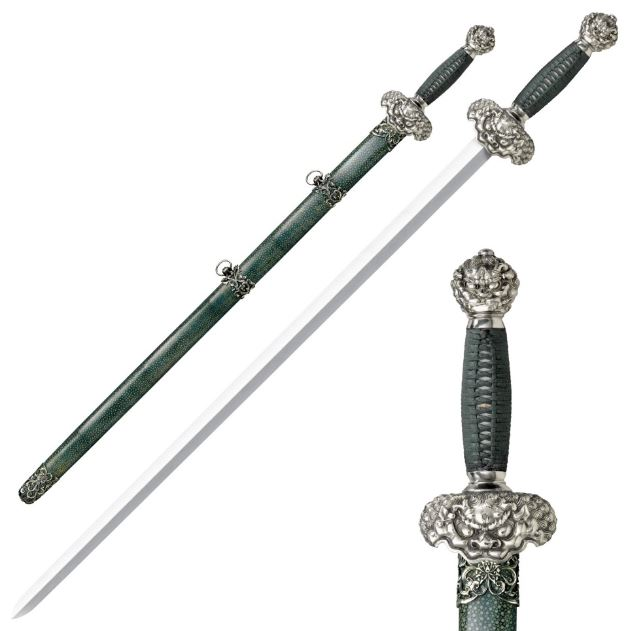 Cold Steel 88RLG Jade Lion Gim Sword (Online Only)