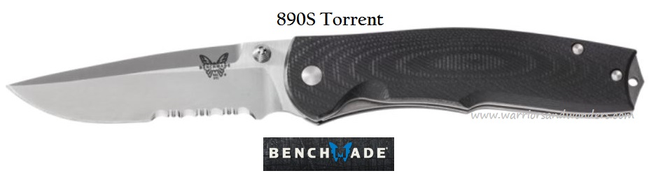 Benchmade Torrent w/Serration 890S