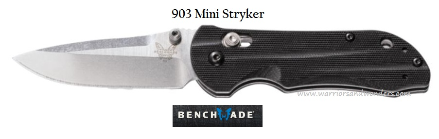 Benchmade Mini Stryker Plain Edge 903 (Online Only)