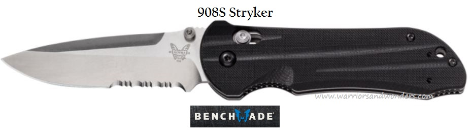 Benchmade 908S Stryker Partially Serrated