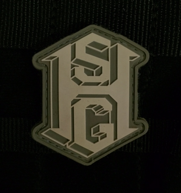 High Speed Gear HSGI PVC Morale Patch - Olive Drab