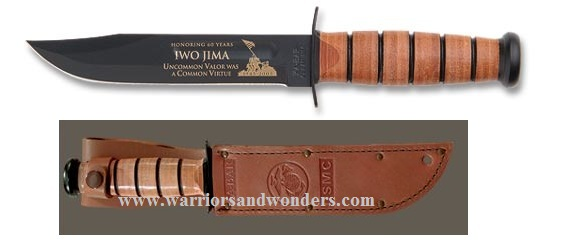 Ka-Bar 9137 USMC Iwo Jima Commemorative Knife (Online Only)