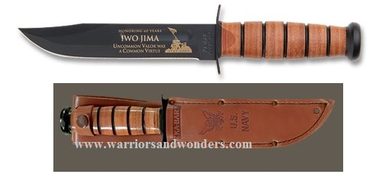 Ka-Bar 9138 US Navy Iwo Jima Commemorative (Online Only)