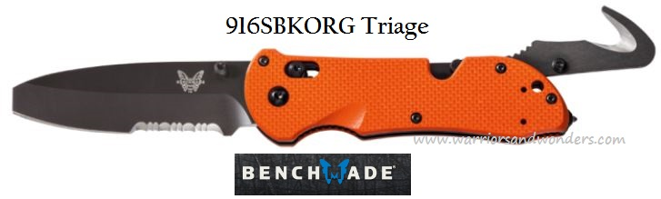 Benchmade Triage Rescue 916SBKORG (Online Only)