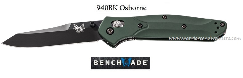 Benchmade 940BK Osborne Black Plain Edge