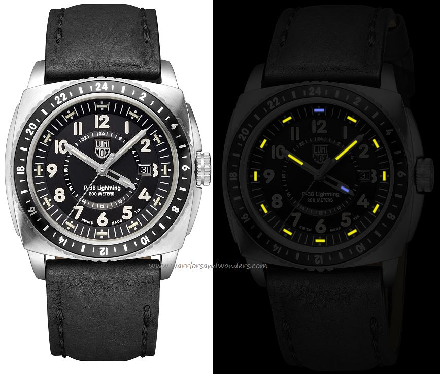 Luminox Air 9421 P-38 Lightning Series