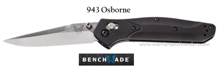 Benchmade Osborne Plain Edge 943