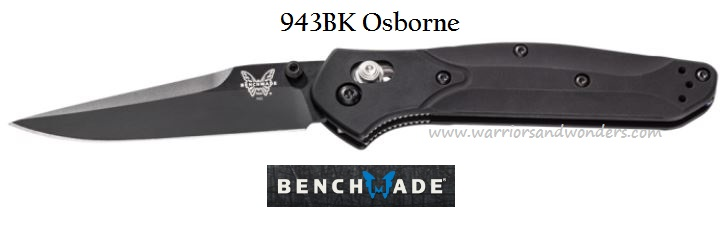 Benchmade Osborne Black Plain Edge 943BK