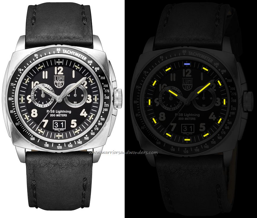 Luminox Air A.9441 P-38 Lightning Chronograph Series