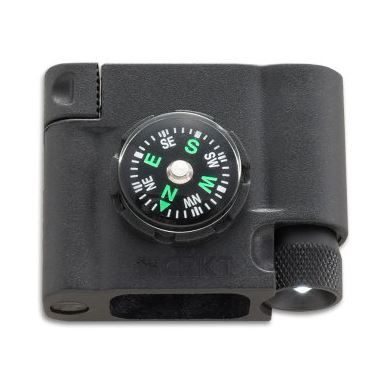 CRKT Bracelet Accessory - Compass-LED-Firestarter 9703