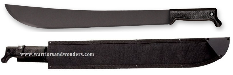 "Cold Steel 97AM18S Latin Machete 18"" w/Cordura Sheath"