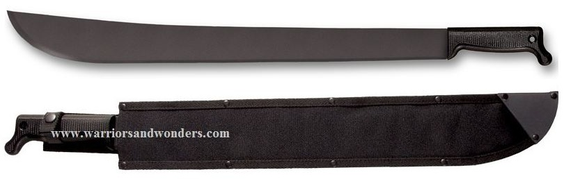 "Cold Steel 97AM24S Latin Machete 24"" with Sheath"