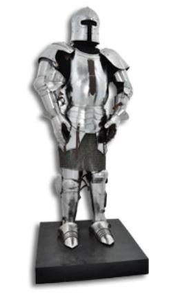 GDFB Milanese Full Size Suit of Armor16G Steel AB0063 [In-Store]