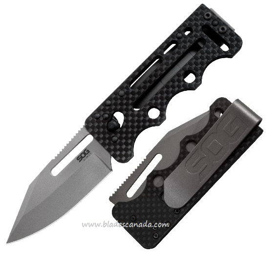 SOG AC79 Ultra C-Ti VG10, Carbon Fiber Handle