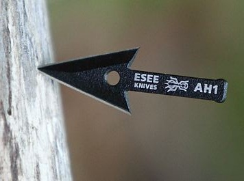 ESEE AH1 Arrowhead Black Powder Coated