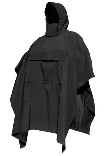 Hazard 4 PonchoVilla Technical Soft Shell Ponch - Black
