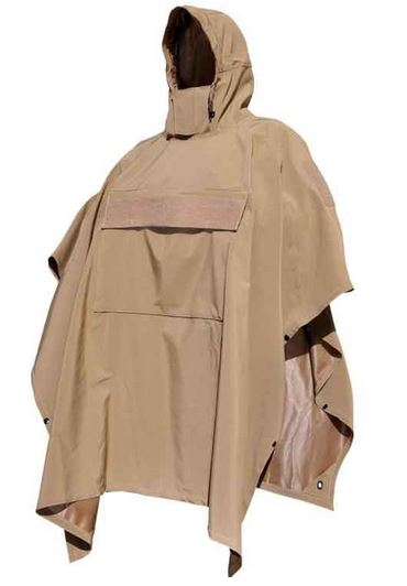Hazard 4 PonchoVilla Technical Soft Shell Ponch - Coyote