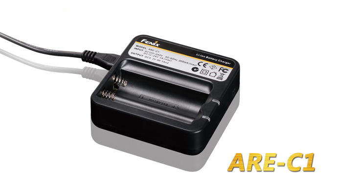 Fenix ARE-C1 Battery Charger for 18650 Batteries