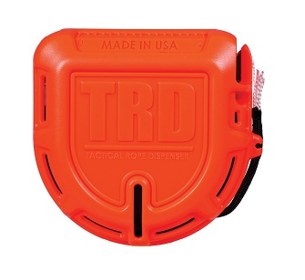 Atwood Rope TRD Tactical Rope Dispenser - Orange