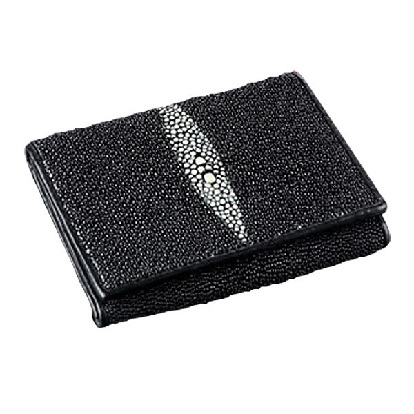 Adam Unlimited Stingray Trifold Wallet - Black