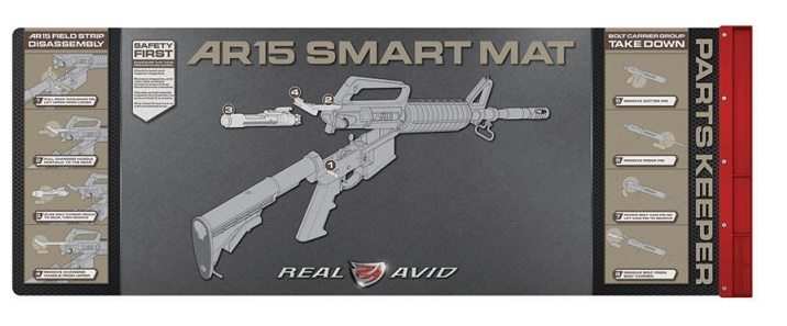 Real Avid Cleaning Smart Mat for AR15