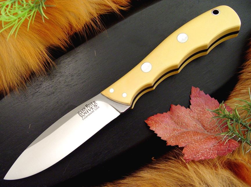 Bark River 129MAI Canadian Special - Ivory Micarta (Online Only)