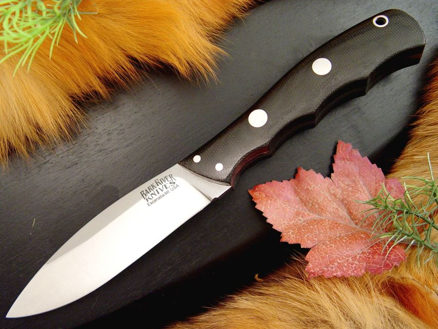 Bark River 129MBC Canadian Special - Black Micarta