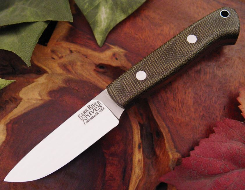 Bark River 151MGC Little Creek - Green Micarta