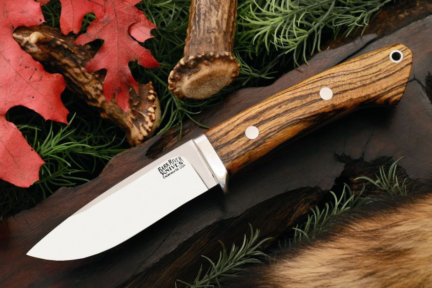 Bark River 2125WB Classic Drop Point Hunter - Bocote