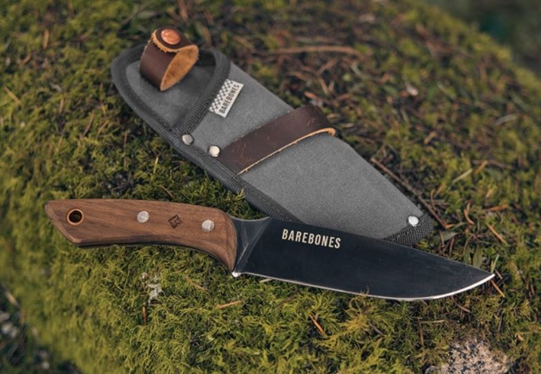 Barebones Woodsman No 6 Field Knife, SK5 Carbon, BARE2118