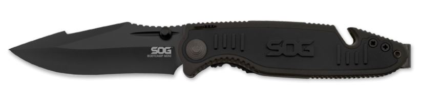 SOG BCP103 Boot Camp Mini Hardcased Assisted Open (Online Only)