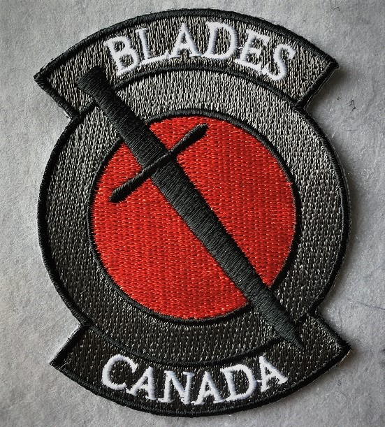 Blades Canada Morale Patch - Embroidered